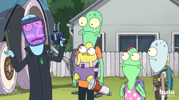 Justin Roiland takes us behind the scenes of Solar Opposites, courtesy of Hulu.