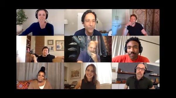 Community cast reunites for The Darkest Timeline with Ken Jeong & Joel McHale.