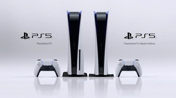 The PS5 will have two versions, a regular and a digital edition.