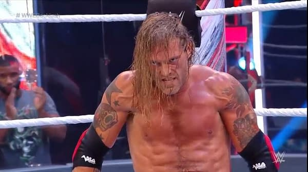 Edge reportedly suffered a torn tricep during the Greatest Wrestling Match Ever at WWE Backlash.