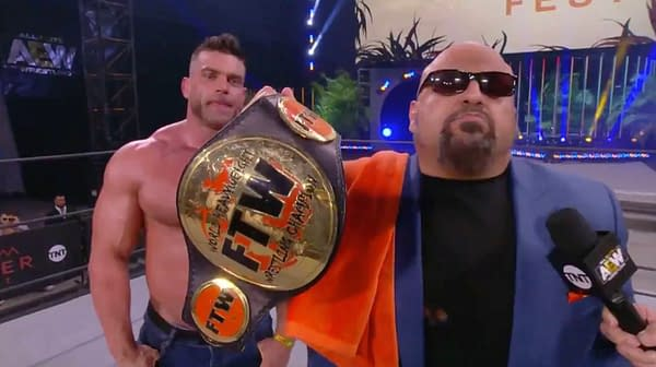 Taz revived the FTW Championship at AEW Dynamite: Fyter Fest Night 2