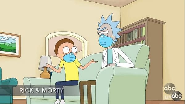 Rick and Morty Emmys Shocker: Rick Reveals Why He Hasn't Tackled COVID