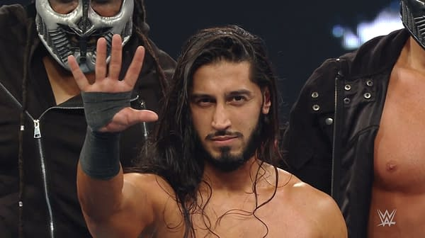 Mustafa Ali revealed himself to be the leader of Antifa-inspired anarchist group Retribution on WWE Monday Night Raw