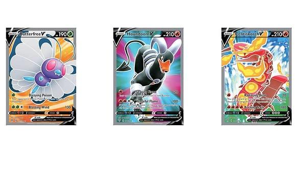 Full Art Cards of Darkness Ablaze. Credit: Pokémon TCG