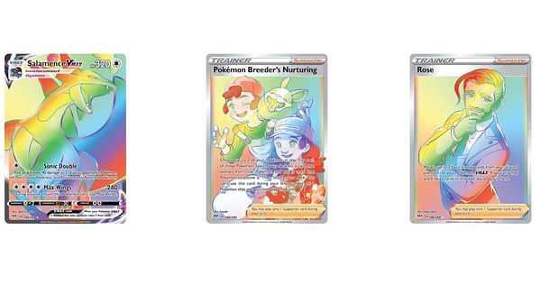 Rainbow Rare Cards. Credit: Darkness Ablaze