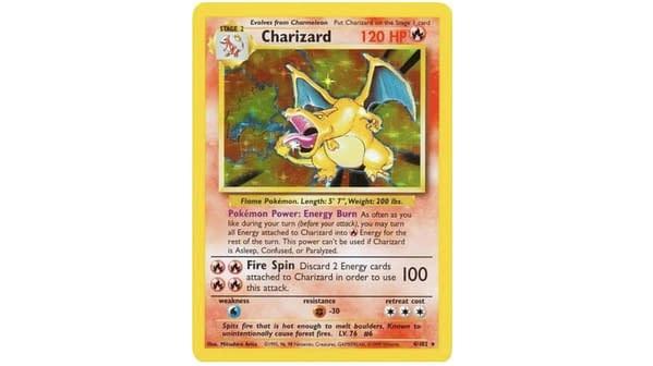 Base set Charizard. Credit: Pokémon TCG