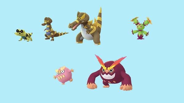 Unreleased Unova Shinies in Pokémon GO. Credit: Niantic
