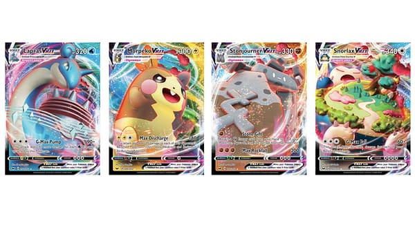 The Pokémon VMAX Cards of Sword & Shield. Credit: Pokémon TCG