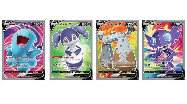 The Full Art Pokémon Cards of Sword & Shield. Credit: Pokémon TCG