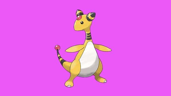 Ampharos official artwork. Credit: The Pokémon Company International