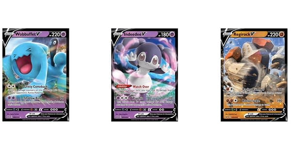 V Cards of Sword & Shield. Credit: Pokémon TCG