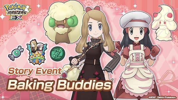 """""""Palentine's Day"""" event in Pokémon Masters EX. Credit: DeNA"""