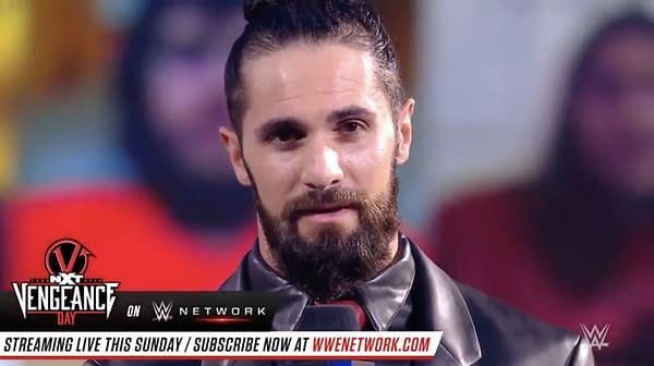 Seth Rollins gives a speech that is poorly received on WWE Smackdown, February 12th.