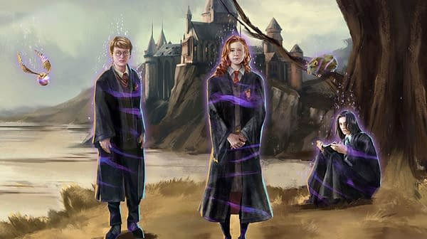 Brilliant Event graphic in Harry Potter: Wizards Unite. Credit: Niantic