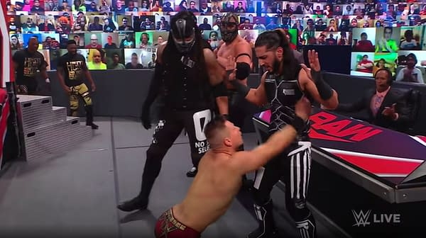 The Miz begs Retribution leader Mustafa Ali to save him from WWE's attempt to strip him of his rightfully-earned WWE Championship, but Ali refuses to get involved.