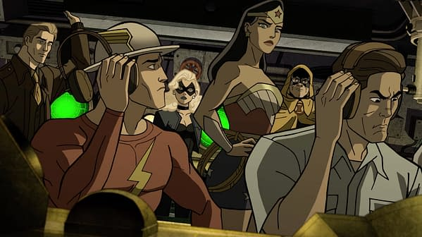 Justice Society:World War II Review – Casablanca with Superheroes