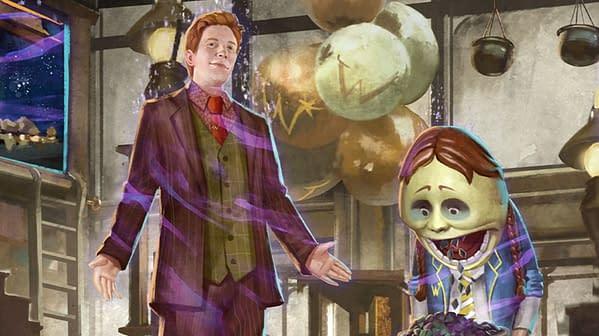 Harry Potter: Wizards Unite's A Weasley Predicament registry. Credit: Niantic