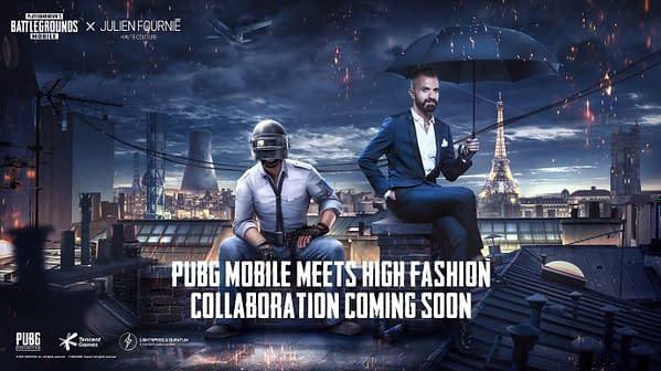 PUBG Mobile Partners With Designer Julien Fournié