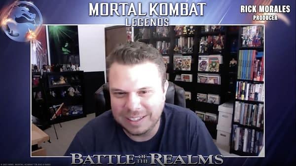 Mortal Kombat Legends: Battle of the Realms virtual CC@Home panel