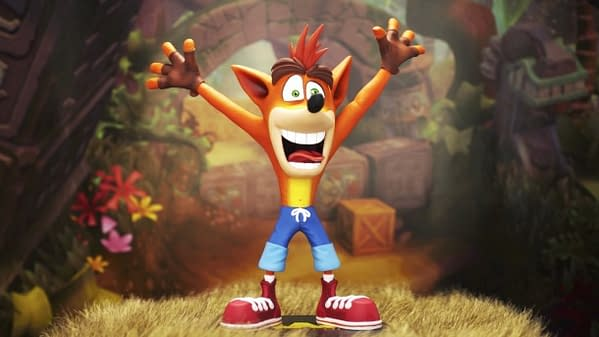 Want More Crash Bandicoot? You Can Now Pre-Order A Hand-Painted Crash Figure