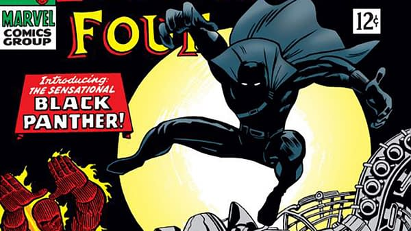 First Appearance of Black Panther: Fantastic Four #52 cover by Jack Kirby