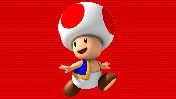 Mario toad nintendo