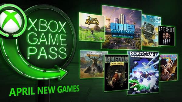 Eight Games Revealed for Xbox Game Pass in April