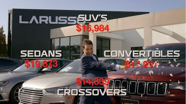 Cobra Kai: New LaRusso Auto Group Ad – Daniel Kicks the Competition!