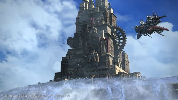 FFXIV's Patch 4.3 Adds Final Fantasy Tactics' Ridorana Lighthouse and Companion App
