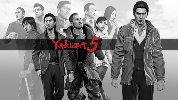 Sega is Giving Yakuza 3, 4, and 5 Remasters on PS4