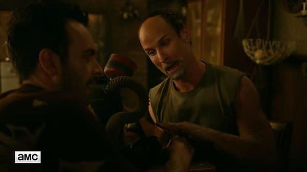 Preacher Season 3 Trailer Unveils Vampire Eccarius, Allfather D'Aronique in Action