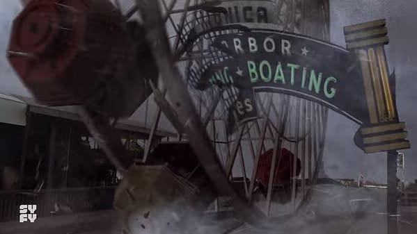 Watch a Teaser for the Emmy-Eligible 'The Last Sharknado: It's About Time'