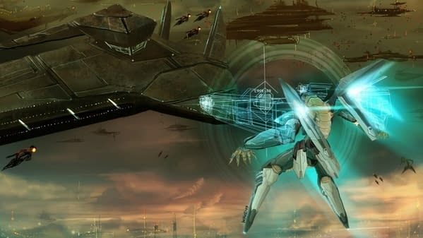 Fighting With Mechs in Space with Konami's Zone of the Enders
