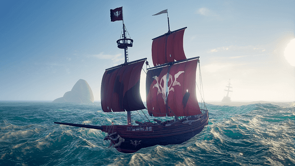 """Sea of Thieves' Next Free Update """"Cursed Sails"""" Coming in Late July"""