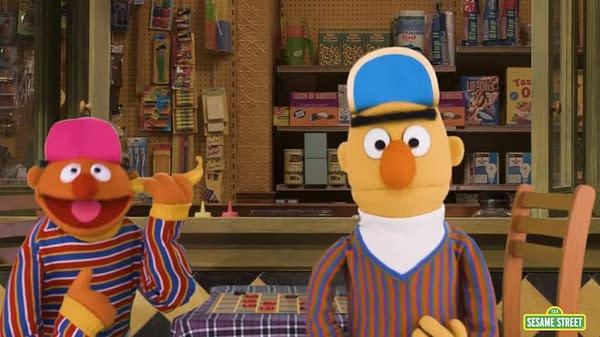 "Sesame Street's Mark Saltzman Wrote Bert and Ernie ""As A Loving Couple"""