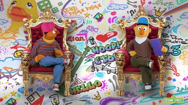 Sesame Street's Bert and Ernie Share Their Backstory 'Fresh Prince of Bel Air' Style