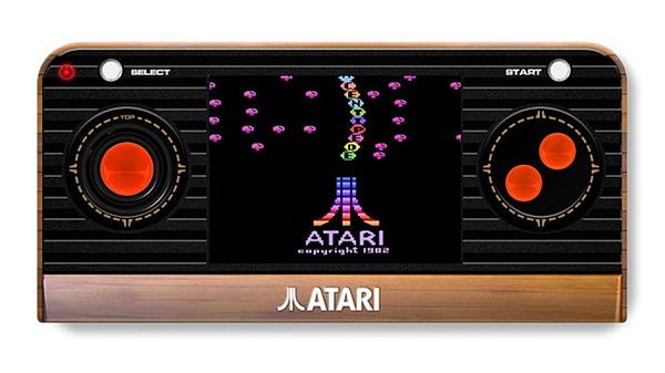 Atari Shows Off Their Atari Retro Handheld for the Holidays