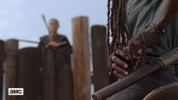 The Walking Dead Season 9, Episode 8 'Evolution' Michonne's Not-So-Friendly Hilltop Homecoming (PREVIEW)