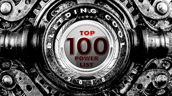 The Bleeding Cool Top 100 Power List 2018 Countdown: #41-45
