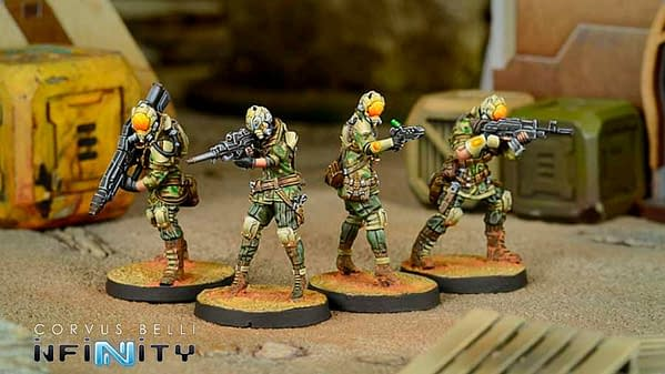 Corvus Belli Unleashes March New Releases for Infinity