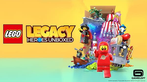 Gameloft Announces LEGO Legacy: Heroes Unboxed For Mobile