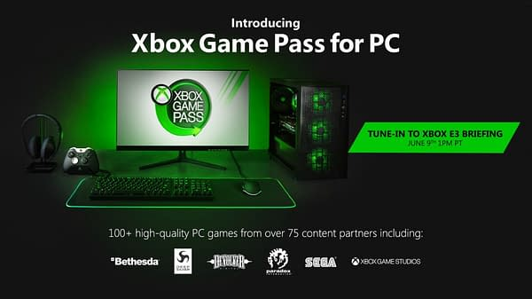 Microsoft Confirms Xbox Game Pass for PC, Details to Follow