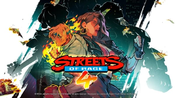 """Streets Of Rage 4"" Shows Off A New Behind-The=Scenes Video"