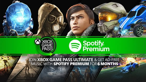 Xbox Game Pass and Spotify Premium promotion