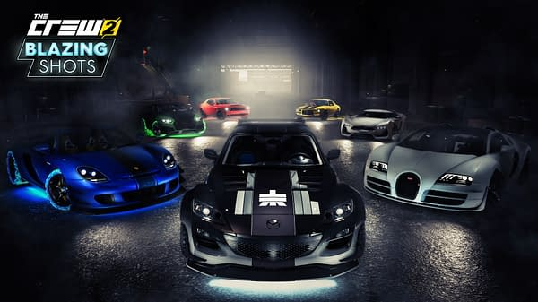 """""""The Crew 2"""" Receives A new Update Wit """"Blazing Shots"""""""