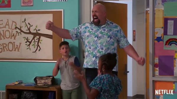 The Big Show makes a big entrance on The Big Show Show, courtesy of Netflix and WWE.