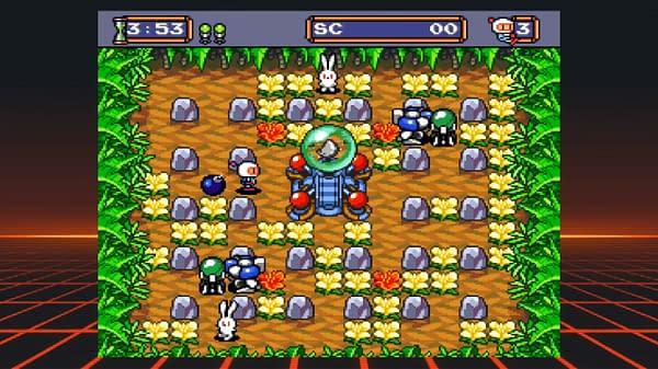 Hey, look! It's Bomberman.