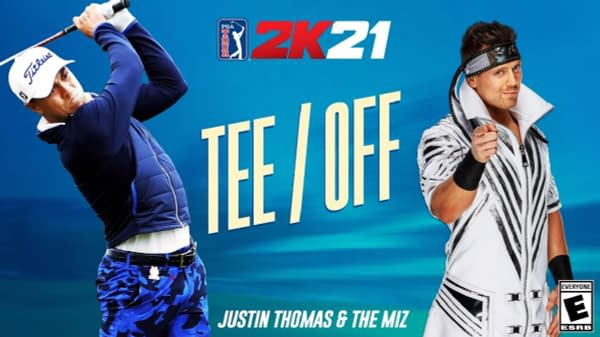 I came to play! The Miz chats with Justin Thomas, courtesy of 2K Games.