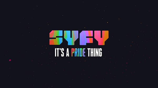 SYFY and GLAAD celebrate Pride Month this June, courtesy of NBCUniversal.