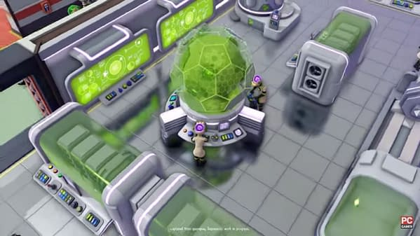 A shot of the player's progress on building their secret lair in Evil Genius 2: World Domination, a game developed and published by Rebellion.